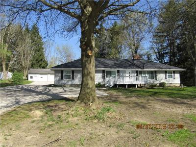 Medina OH Single Family Home For Sale: $189,900