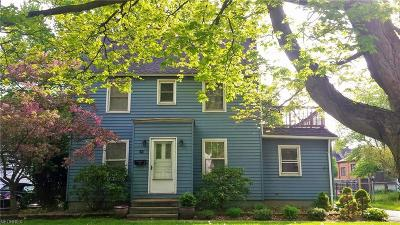 Painesville Single Family Home For Sale: 52 Nelson St