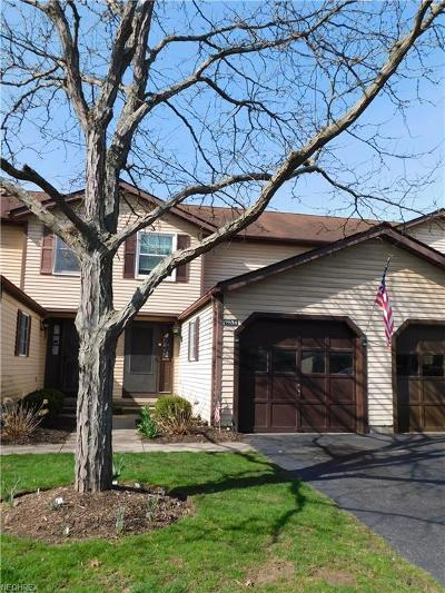 Twinsburg Condo/Townhouse For Sale: 9654 East Idlewood Dr
