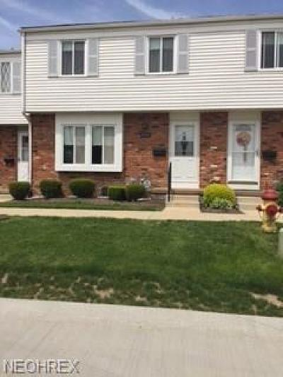 Mentor Condo/Townhouse For Sale: 7503 Essex Dr