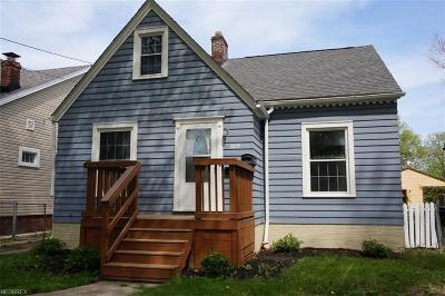 Cleveland Single Family Home For Sale: 3805 West 129th St