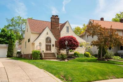 Cleveland OH Single Family Home For Sale: $179,900