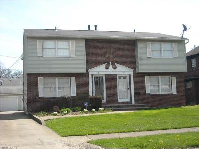 Warren Single Family Home For Sale: 231/233 Kenilworth Ave Southeast
