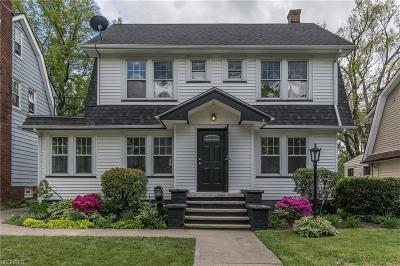 Cleveland Heights Single Family Home For Sale: 3234 Yorkshire Rd