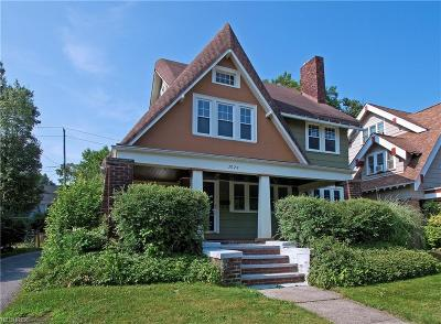Cleveland Heights Single Family Home For Sale: 3024 Yorkshire Rd
