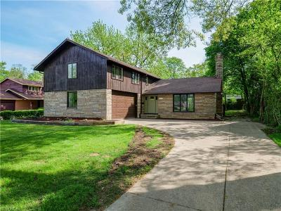 Shaker Heights Single Family Home For Sale: 3027 Van Aken Blvd
