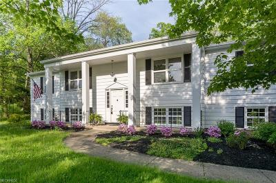Novelty Single Family Home For Sale: 13971 Fox Hollow Dr