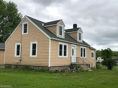 Single Family Home For Sale: 6290 Wayland Rd