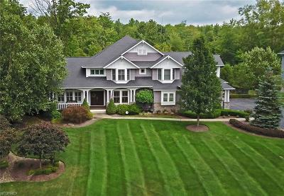 Chagrin Falls Single Family Home For Sale: 7410 Faraway Trl