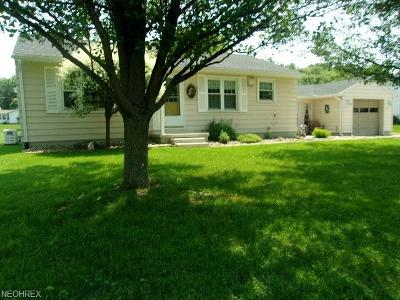 Zanesville Single Family Home For Sale: 3660 Mill Dr