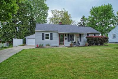 Medina OH Single Family Home For Sale: $129,900