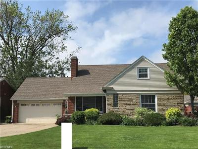 Fairview Park Single Family Home For Sale: 21230 Parkwood Ave