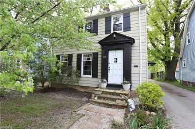 Cleveland Heights Single Family Home For Sale: 1008 Rushleigh Rd