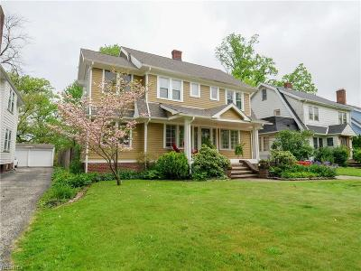 Cleveland Single Family Home For Sale: 17606 Bradgate Ave