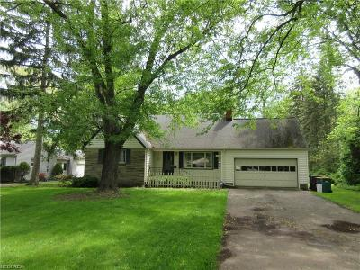 Mentor Single Family Home For Sale: 7945 Middlesex Rd