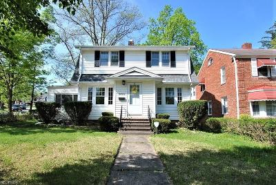 Cleveland Heights Single Family Home For Sale: 3484 Meadowbrook Blvd