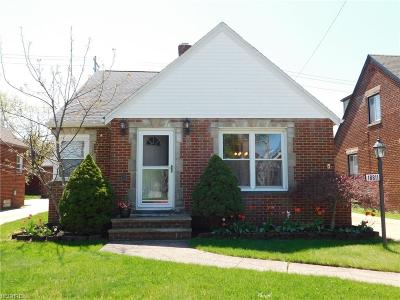 Cleveland OH Single Family Home For Sale: $175,000