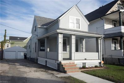 Cleveland Single Family Home For Sale: 1337 West 78th St