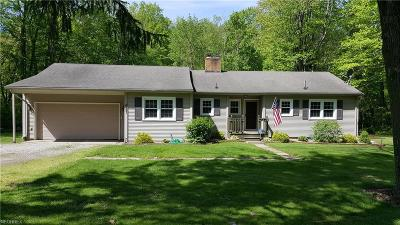 Ashtabula County Single Family Home For Sale: 8651 Munson Hill Rd