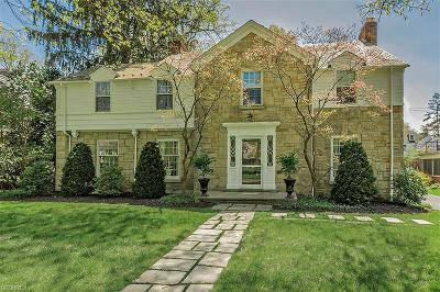 Shaker Heights Single Family Home For Sale: 21276 Fairmount Blvd