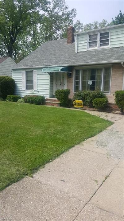 Cleveland Heights Single Family Home For Sale: 3629 Monticello Blvd