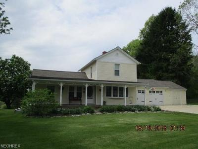 Vienna Single Family Home For Sale: 996 Scoville North Rd