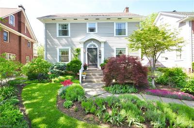 Cleveland Heights Single Family Home For Sale: 2991 Yorkshire Rd