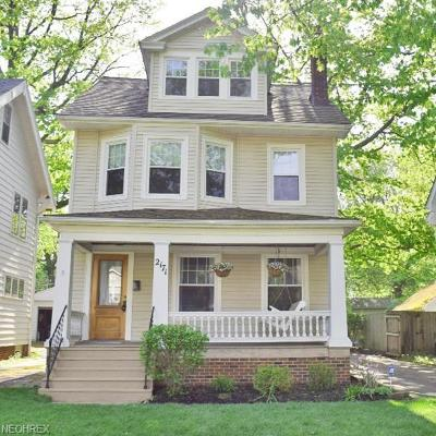 Cleveland Heights Single Family Home For Sale: 2171 Briarwood Rd