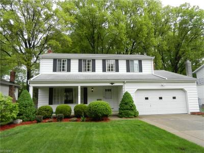 North Olmsted Single Family Home For Sale: 27886 Edgepark Dr