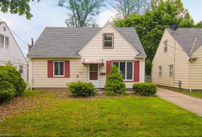 Cleveland Single Family Home For Sale: 3709 Archmere Ave
