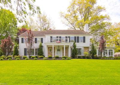 Shaker Heights Single Family Home For Sale: 22276 Shelburne Rd