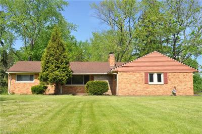 Chagrin Falls Single Family Home For Sale: 4750 Lander Rd