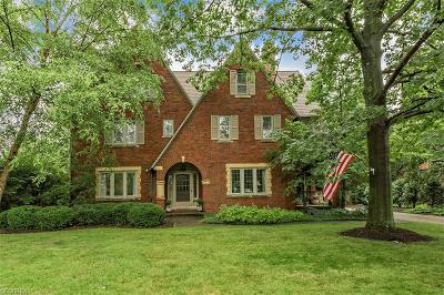 Shaker Heights Single Family Home For Sale: 2995 Torrington Rd