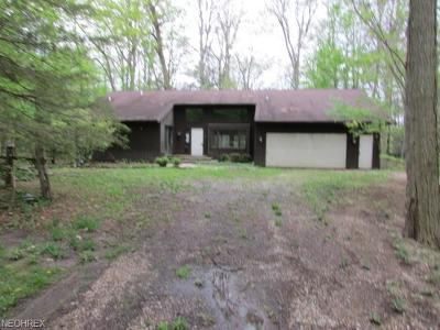 Geauga County Single Family Home For Sale: 18894 Rivers Edge West Dr