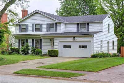 Fairview Park Single Family Home For Sale: 4597 West 224th St