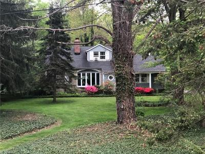 Gates Mills Single Family Home For Sale: 6984 Mayfield Rd