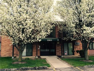 North Olmsted Condo/Townhouse For Sale: 23833 David Dr #202