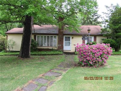 Single Family Home For Sale: 2208 Volney Rd