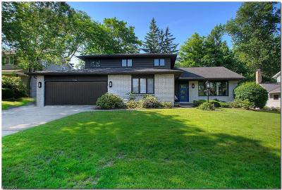Cuyahoga County Single Family Home For Sale: 24244 Wendover Dr