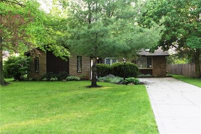 Cuyahoga County Single Family Home For Sale: 6536 Wedgewood Dr