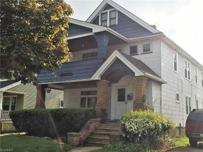 Lakewood Multi Family Home For Sale: 2040 Elmwood Ave