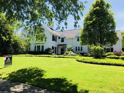 Shaker Heights Single Family Home For Sale: 23976 Stanford Rd