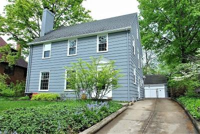 Shaker Heights Single Family Home For Sale: 3355 Elsmere Rd