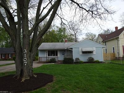 North Olmsted Single Family Home For Sale: 3107 Clague Rd