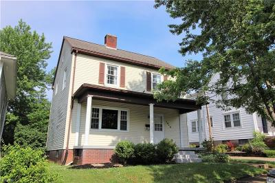 Zanesville Single Family Home For Sale: 1515 Myrtle Ave