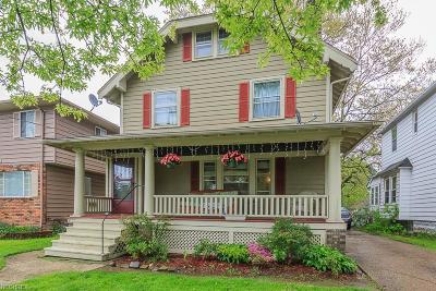Cleveland Single Family Home For Sale: 3177 Warren Rd