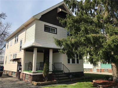 Cuyahoga County Multi Family Home For Sale: 19780 Pasnow Ave