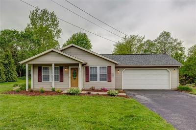 Madison Single Family Home For Sale: 4072 Dayton Rd