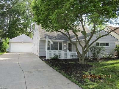 Cuyahoga County Single Family Home For Sale: 287 Wallace Dr