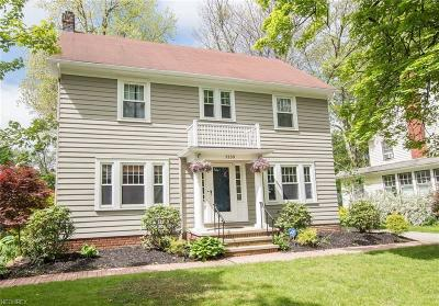 Shaker Heights Single Family Home For Sale: 3150 Warrington Rd